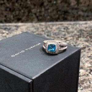David Yurman Albion Petite Topaz Ring